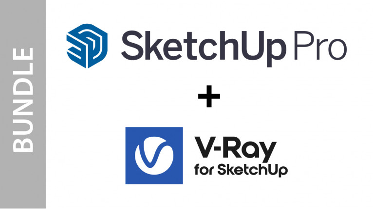 SketchUp Pro + V-Ray for SketchUp - Bundle (Commercial license)
