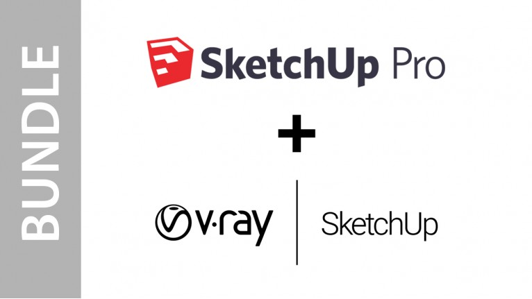 SketchUp Pro 2017 + V-Ray for SketchUp - Bundle