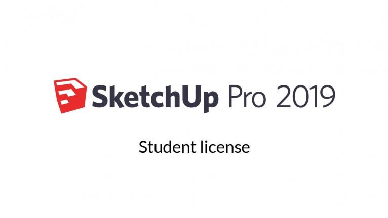 Trimble - SketchUp Pro 2019 - Single - Student - 1 year