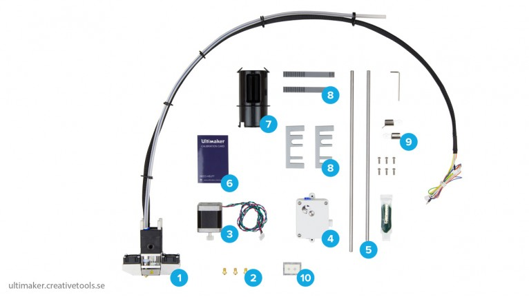 Ultimaker - Extrusion Upgrade Kit - U2 to U2+