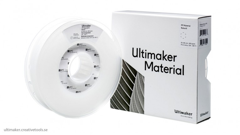 Ultimaker - PP - Natural - 2,85mm - 500g - NFC tag