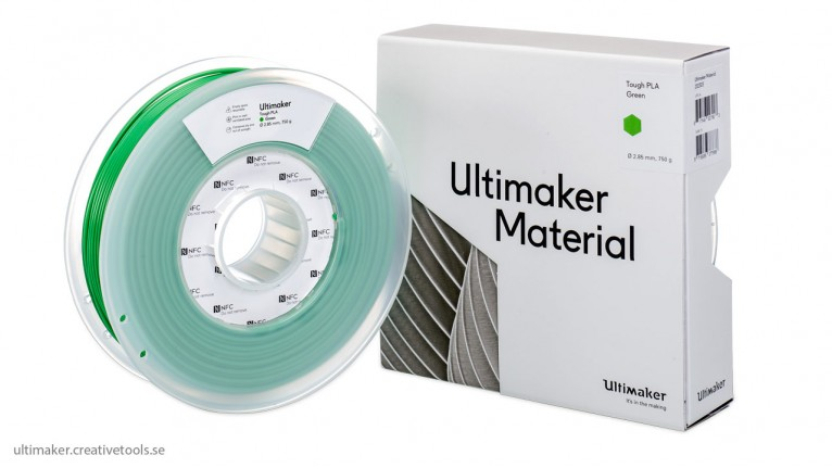 Ultimaker - Tough PLA - 2.85mm - 750g - NFC tag
