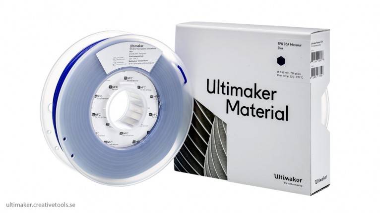 Ultimaker - TPU - 2.85mm - 750g - NFC tag