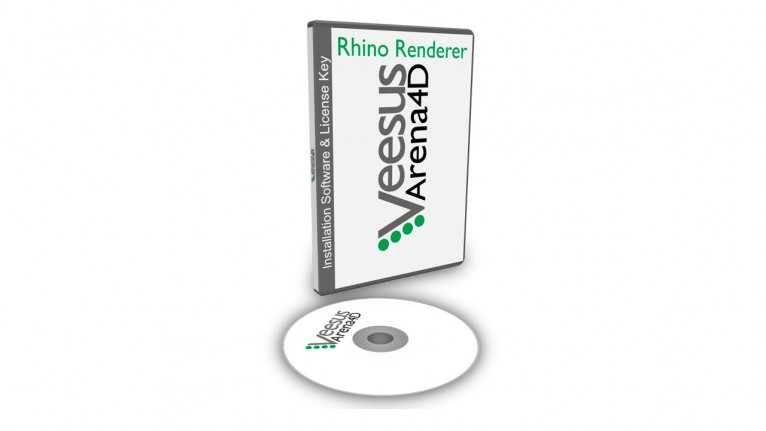 Veesus - Arena4D Rhino Render plugin (12 Month Subscription)